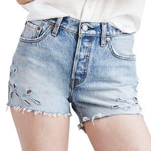 Levi's 501 Denim Jean Shorts in Sierra Oasis
